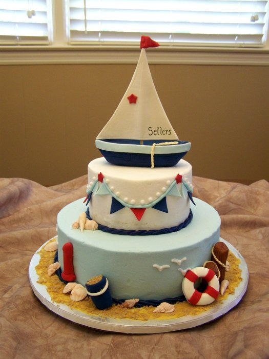 Let's go sailing for a first birthday
