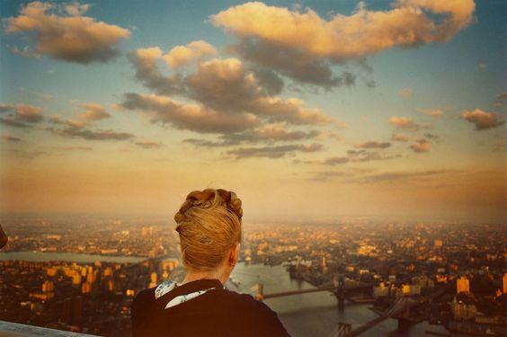 World Trade Center, NY    photo by Len Jenshel, 1979