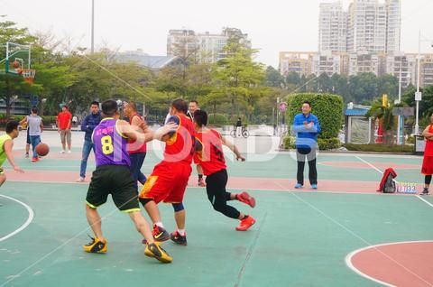 Photograph Chinese Men Playing Basketball Match 81378182 With Images Chinese Man Basketball Men