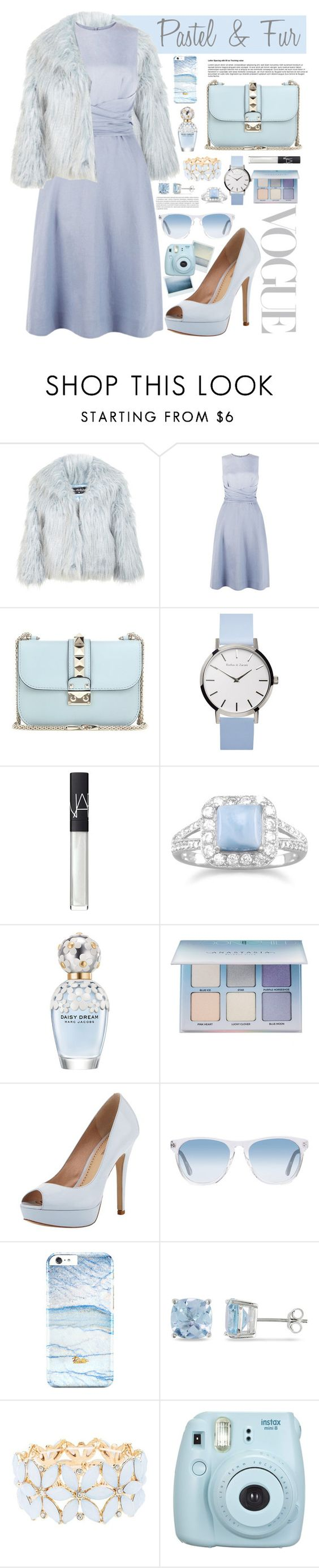 """""""Untitled #89"""" by alltimegabi ❤ liked on Polyvore featuring Miss Selfridge, Hobbs, Valentino, NARS Cosmetics, BillyTheTree, Marc Jacobs, Anastasia Beverly Hills, Pour La Victoire, Oliver Peoples and Oris"""