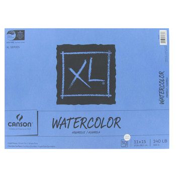 Canson Xl Watercolor Paper Pad 11 X 15 Watercolor