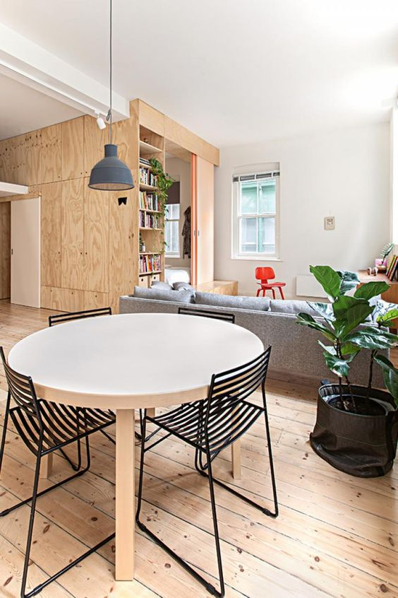dining plywood