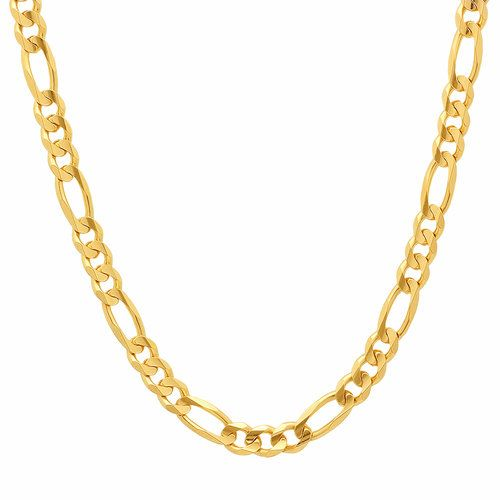 Chains For Men Figaro Chain 18k Gold Figaro Chain Sterling Silver Figaro Chain White Gold Figaro Chain H Gold Chains For Men Chain Link Necklace Chain Necklace