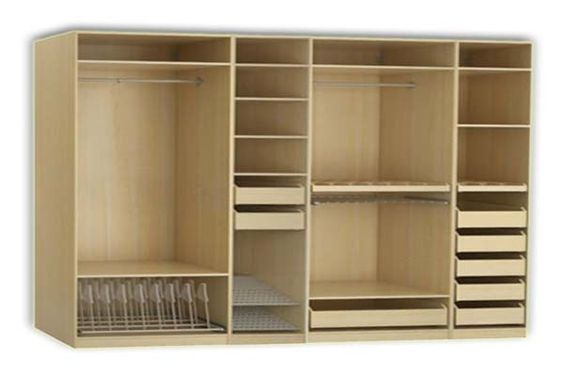 Pax system ikea closet and organizers on pinterest for Ikea closets organizers