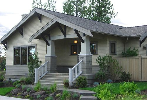 Essential in defining craftsman or arts and crafts style - Craftsman style house characteristics ...