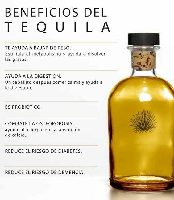 Beneficios del tequila