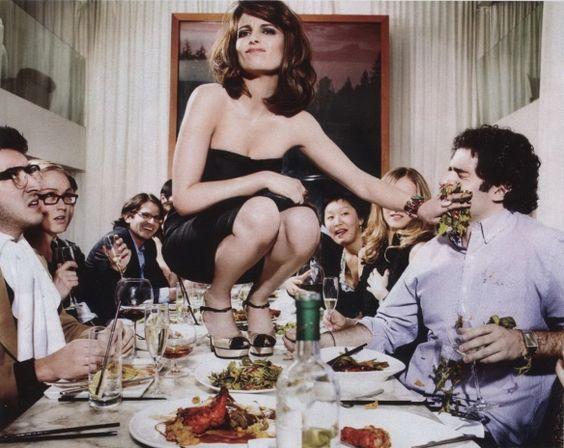 Yay for funny women! Happy Birthday Tina Fey! <3
