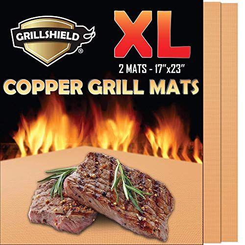 Grillshield Extra Large Copper Grill And Bake Mats Set Of Https Www Amazon Com Dp B073wjdm3t Ref Cm Sw R Pi Dp U X Tndsdbmh5 Grilling Baking Mat Bbq Grill
