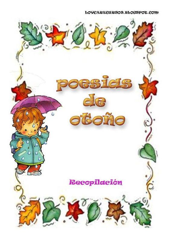 Poemas y rimas infantiles del oto o para ni os poes as - Manualidades para el otono ...