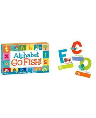 Peaceable Kingdom Alphabet Go Fish Card Game Reviews Kids Macy S Fishing Cards Card Games Matching Cards