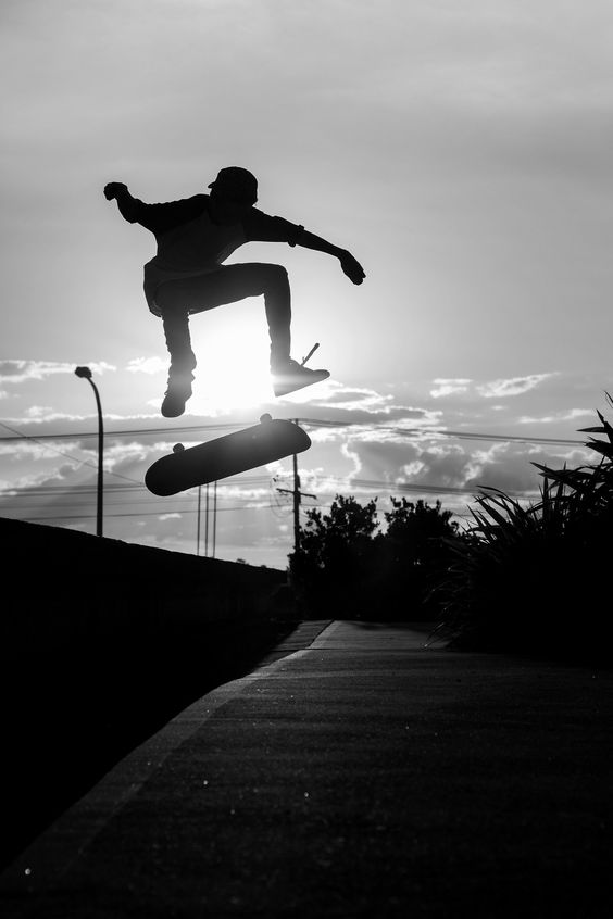 Skateboarding Black and White Photography | Skateboarding ...