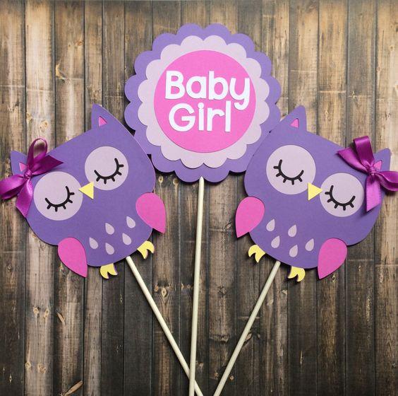girl baby laila baby owl themed baby shower ideas baby girl shower