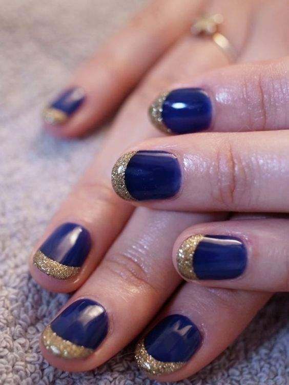 Charming Nail Polish For Christmas Thin Red Carpet Nail Polish Flat Nail Art How To Opi Nail Polish Designs Young Beautiful Nails Art Images BrightNail Art Designs On Toes 55 Simple Nail Art Designs For Short Nails: 2016 | Nail Art, Navy ..