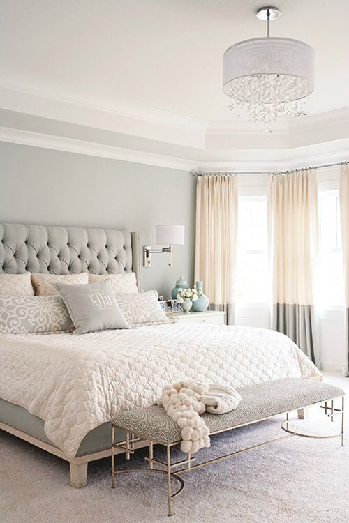 35 Spectacular Bedroom Curtain Ideas The Sleep Judge Beautiful Bedroom Colors Tan Bedroom Home Bedroom