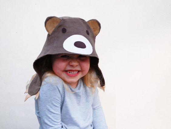 bear, bear hat, dress-up, play, play pretend, children, costume
