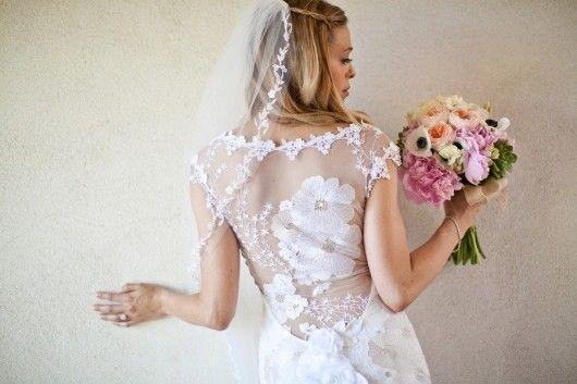 L'art déco vela la sposa di Claire Pettibone – The Dress