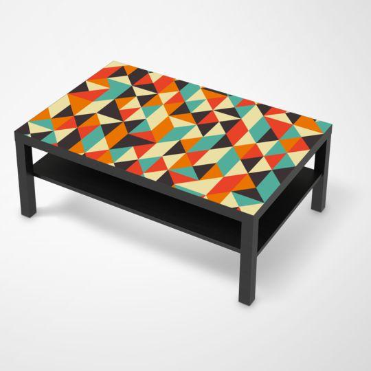 """Die #Klebefolie mit dem Design """"Hallucinogen"""" für deine IKEA Möbel und vieles mehr… #IKEA #Hacks #LACK"""