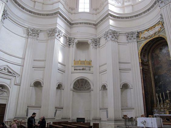 Italian baroque architecture borromini interior of sant for Baroque architecture in italy