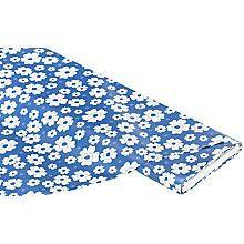 Abwaschbare Tischwäsche - Wachstuch Flora, blau
