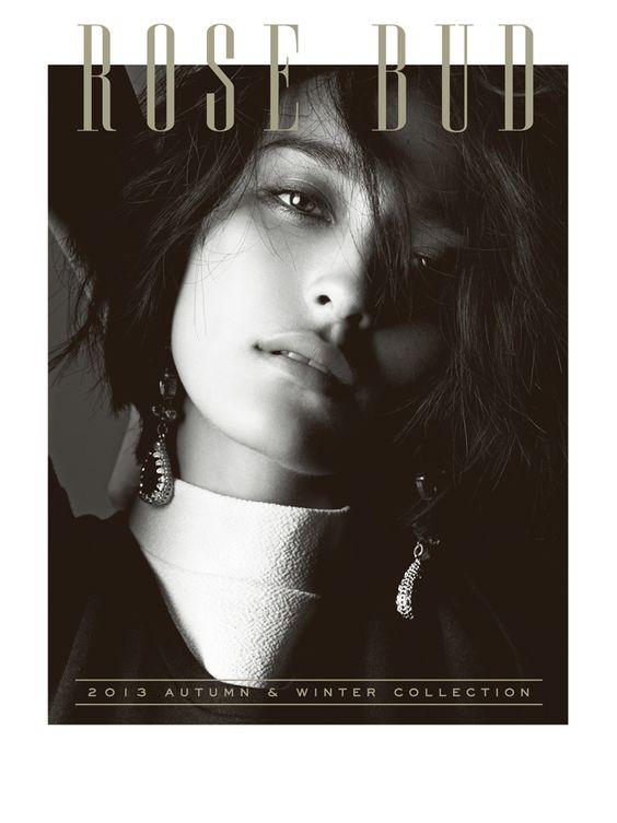LOOK BOOK 2013 AUTUMN & WINTERモデルの長谷川潤