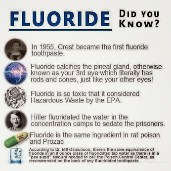 Google+ ~ Fluoride is found to be prevalent in the air and water after Chemtrail rains (White-Sky Rainstorms). I suspect they're adding Roundup pesticide to Chemtrails mixture, from the odor. Depleted Uranium [DU] added to Chemtrails sometimes causes them to appear brownish in color. DU causes illness, death, and deformities of flora & fauna 1000's of years into the future.: