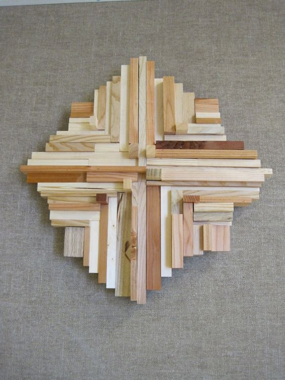 Is it a cross? Is it art? made from shop scraps, this inspirational wall hanging will look great where ever you might place it. No two a like. Pricing to come.