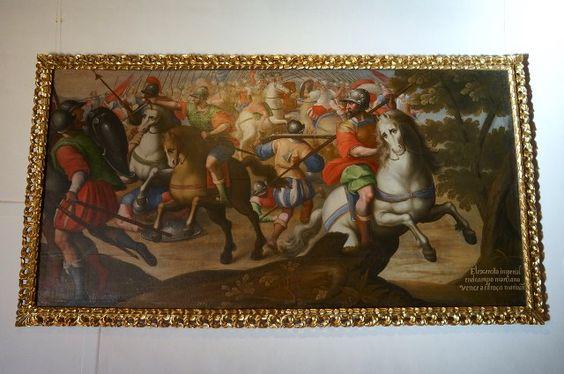 Painting at Casa de la Moneda in Potosi