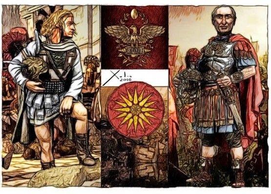 Xulio Formoso: Alejandro y Julio César