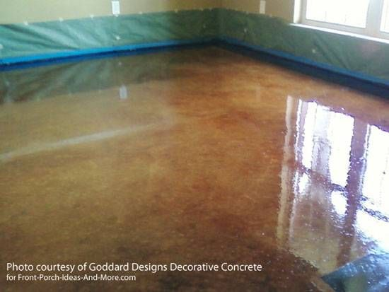 Staining Concrete Floor Basics