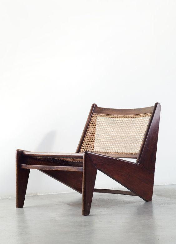"pierre jeanneret, ""kangourou chair"", 1960"