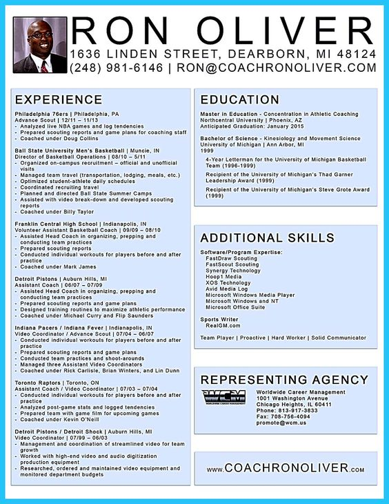 when you write your resume especially a resume for a basketball basketball coach resume examples