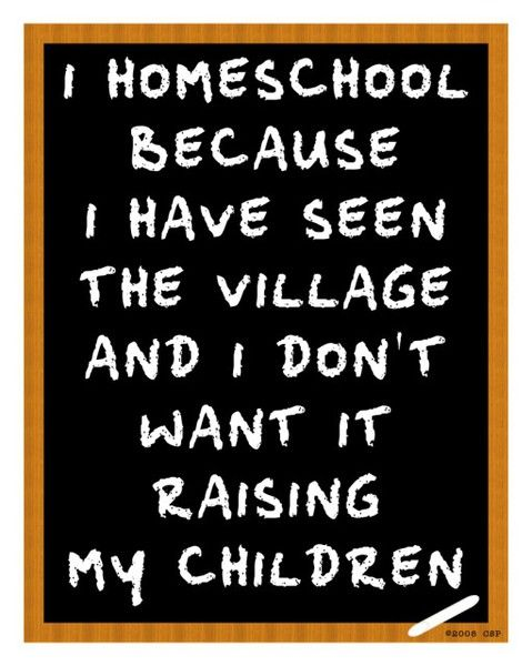 Home Schooling, for Kelly