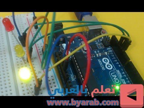 طريقة صنع وبرمجة اشارة المرور بأستخدام الاوردوينو Arduino Graphic Card Arduino Vehicle Jumper Cables