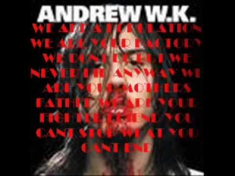 Andrew W.K. ~ I Love NYC