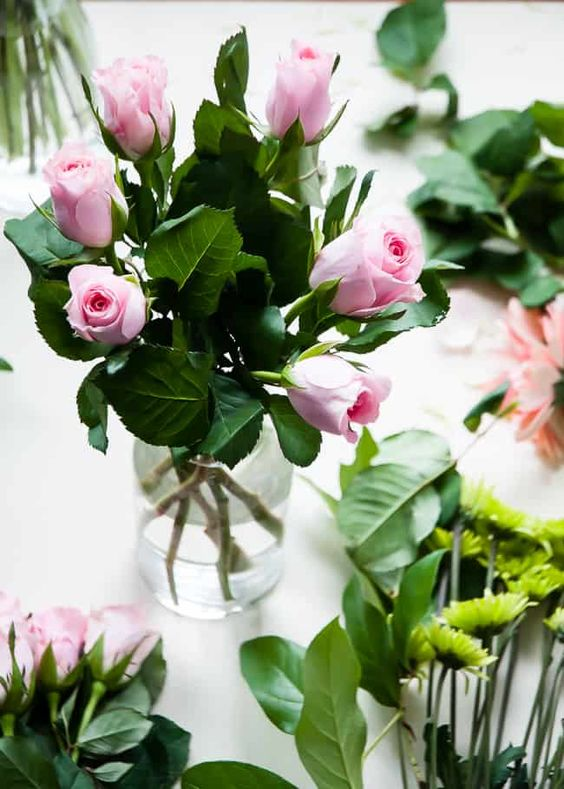 Grocery Store Bouquet with Pink Roses | Hello Glow