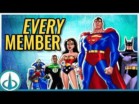 The Dcau Justice League All Members Watchtower Database Youtube All Justice League Members Watch Justice League Justice League