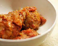 Polpettine di Tacchino: Turkey Meatballs