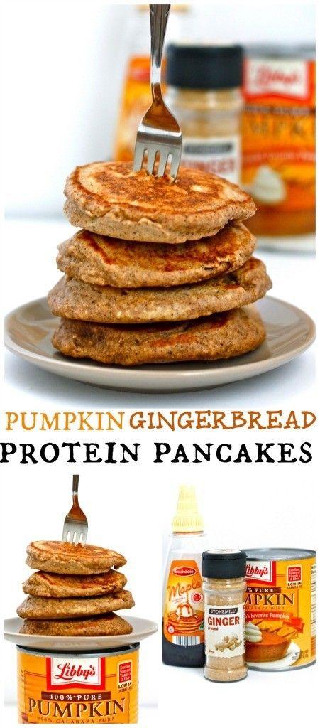 Pumpkin pancakes, Protein and Pancakes on Pinterest