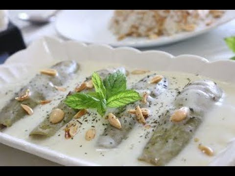 شيخ المحشي طريقة عمل الكوسا بلبن Sheikh El Mahshi Bil Laban Stuffed Zucchini Youtube Food Dessert Recipes Feta