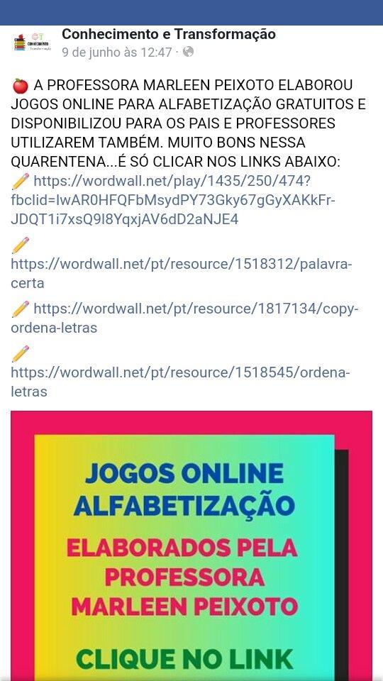 Pin De Zeneilda Fabiano Em Tarefas Palavra Certa Palavra Jogos Online