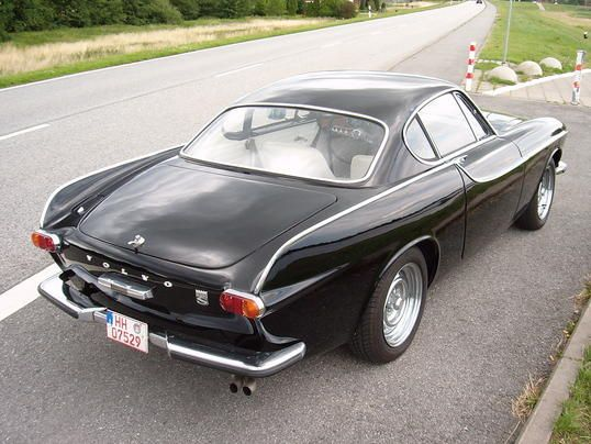The Volvo P1800 From The Rear Love Those Lines Drive