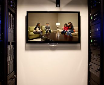 Observation Room | Time Warner MediaLab | AV systems designed and integrated by CompView.com