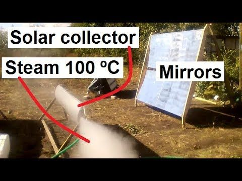 Solar Heater Mirror Cheap 100 ºs To Separate Receiver From