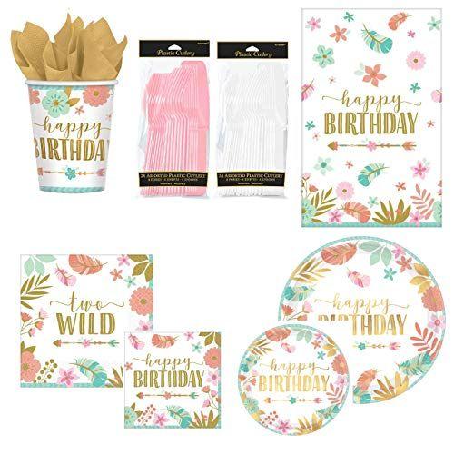 2nd Birthday Supplies 2nd  Birthday Paper  Napkins  16 Wild Two Party Napkins Wild Two Paper Napkins