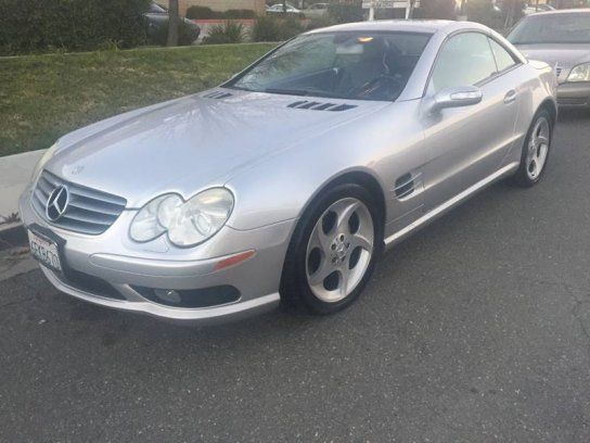Convertible 2005 Mercedes Benz Sl 500 With 2 Door In Quail Valley Ca 92587 Benz Mercedes