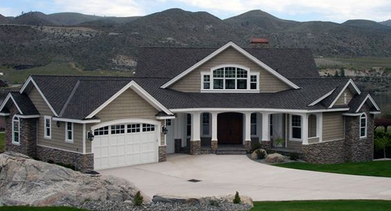 House Plans Great Room Layout And House On Pinterest