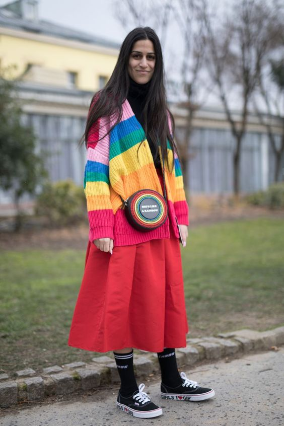 #TheLIST: Fashion Has Gone Somewhere Over The Rainbow This spring trend is here to brighten all our days. Trade in your all-black uniform for a technicolor piece that will instantly brighten your day.