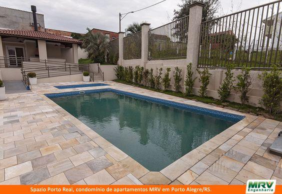 Paisagismo do Porto Real. Condomínio fechado de apartamentos localizado em Porto Alegre / RS.
