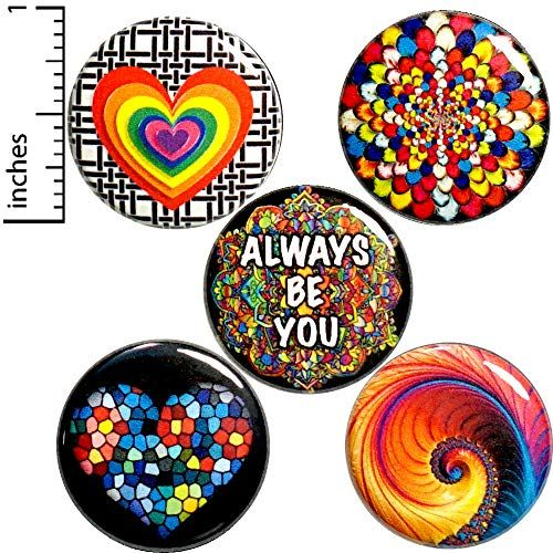 Rainbow Fridge Magnets For Refrigerators Or Lockers Cool Https Www Amazon Com Dp B07y2q6bkm Ref Cm Sw R Pi D Rainbow Buttons Pretty Designs Positive Gift