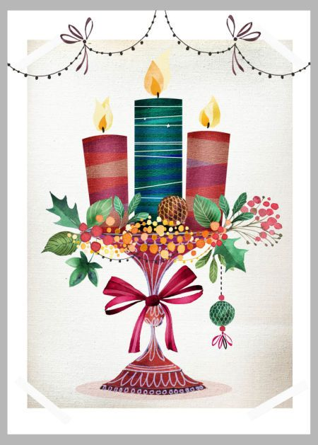 Victoria Nelson - Xmas Candles Copy